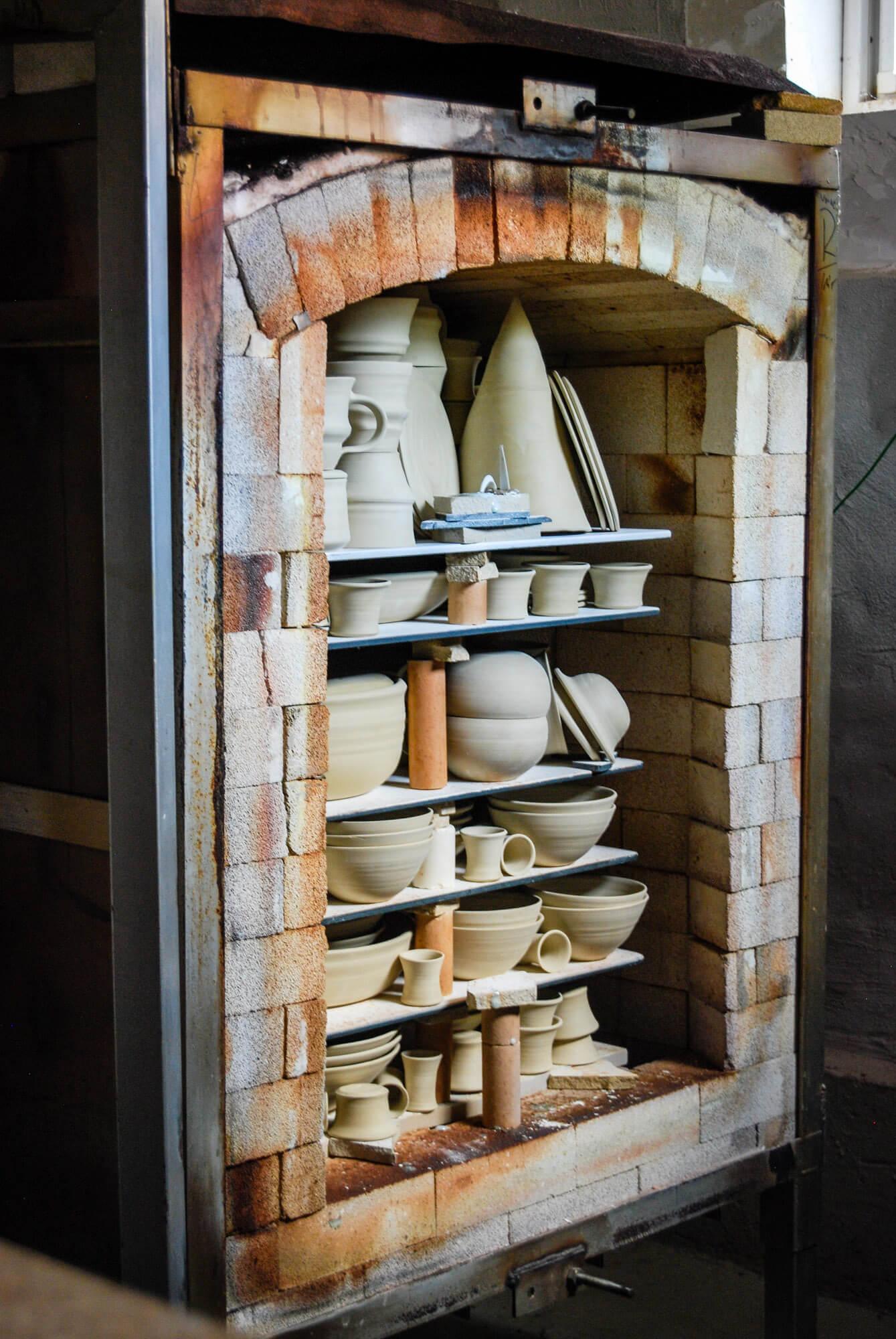 Ton in Ton Keramik Katarina Petersilge Ofen