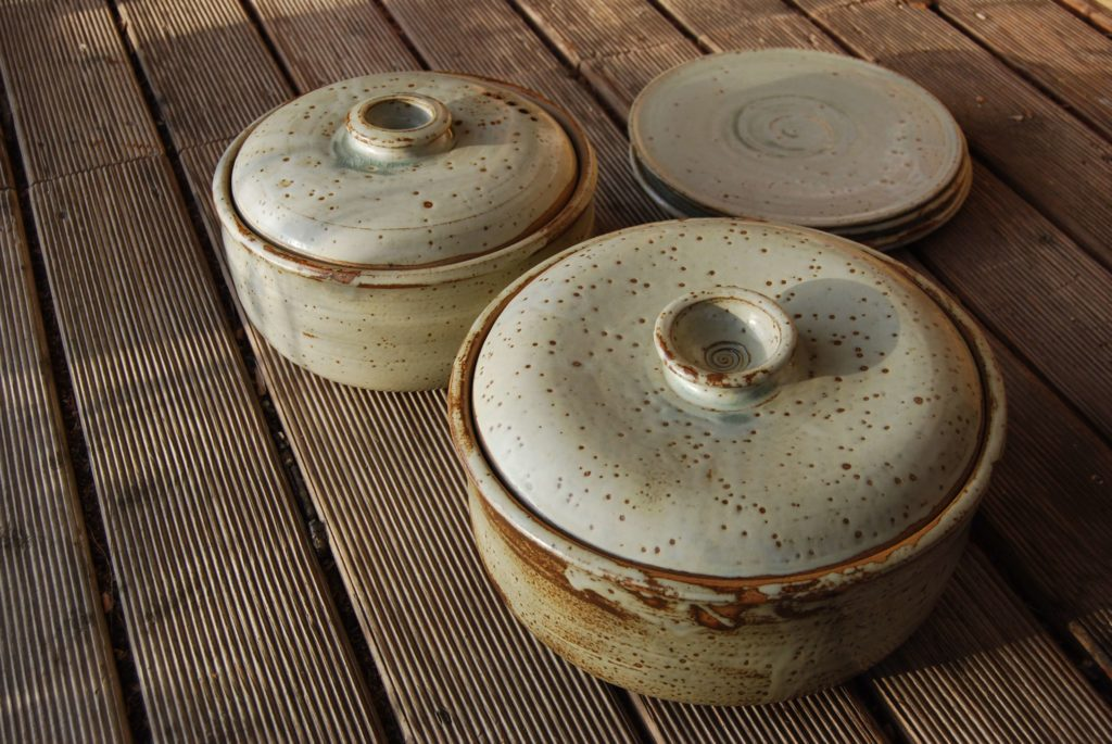 Brottöpfe Keramik Katarina Petersilge Ascheglasur