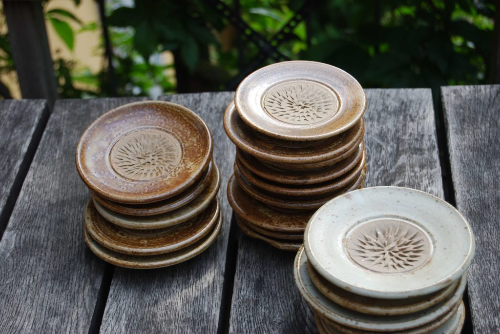 Vorratsgefäße Ingwer Knoblauchtöpfchen Keramik